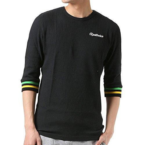 腹触手湿地Real.B.Voice リアルビーボイス メンズ 七分袖 Tシャツ 10011-10002