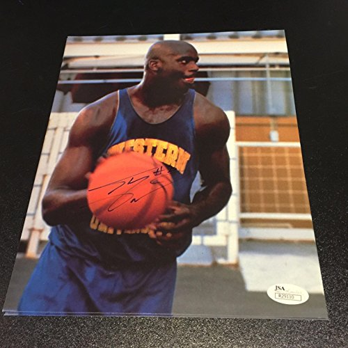 Shaquille O'Neal 1990's Early Career Signed Autographed 8x10 Photo With JSA COA