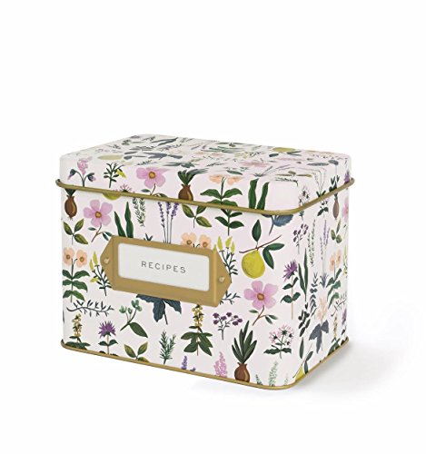 Garden Pattern Paper (Rifle Paper Co. Recipe Box - Herb Garden)
