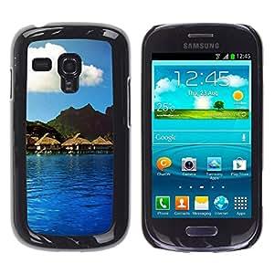Paccase / SLIM PC / Aliminium Casa Carcasa Funda Case Cover - Nature Beautiful Forrest Green 114 - Samsung Galaxy S3 MINI NOT REGULAR! I8190 I8190N