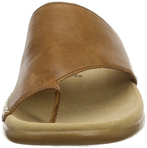 Donna Gabor Peanut 24 Marrone Ciabatte Shoes Fashion rSBr1