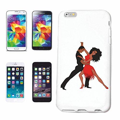 caja del teléfono iPhone 6+ Plus Baile de salsa TANGO DANZA FOXTROTT Vals pareja de baile HIPHOP DEL ROCK N ROLL Caso duro de la cubierta Teléfono Cubiertas cubierta para el Apple iPhone en blanco