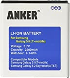 [NFC/Google Wallet Capable] Anker 2200mAh Li-ion Battery for Samsung Galaxy S2 T989 Hercules (T-Mobile), Galaxy Nexus I515 (Verizon), Skyrocket I727 (AT&T), Galaxy Nexus L700 (Sprint), Not for Galaxy S2 I9100, NOT NFC Capable