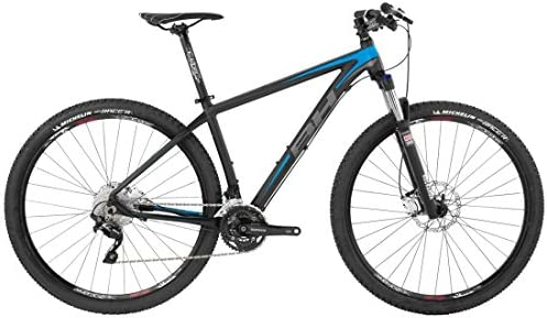 BH EXPERT-Bicicleta de montaña 29 7,5, color negro, azul y gris de ...