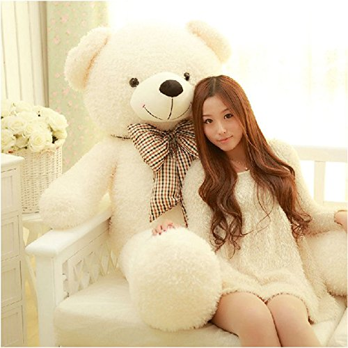 70CM Giant Big Plush Stuffed Teddy Bear Huge Soft 100% Cotton Toy Best Gift