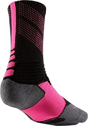 Black 066 Basketball Nike Kay SMLX Black Pink Yow Sock Adult Unisex Crew Elite Grey zvqHvtwU