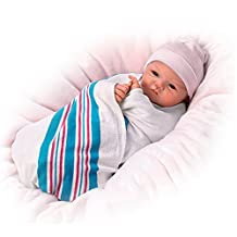 Sandy Faber Welcome To The World Lifelike Newborn Baby Girl Doll by The Bradford Exchange