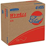 WypAll 41455 X70 Wipers, POP-UP Box, 9 1/10 x 16 4/5, White (Case of 1000)