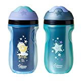 Tommee Tippee Insulated Sipper Tumbler, Boy , 9 Ounce, 2 Count