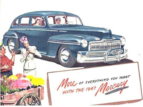 Read Online 1947 MERCURY PASSENGER CARS DEALERSHIP SALES BROCHURE - ADVERTISEMENT - Includes Mercury V-8 Sedan, Town-Sedan, Sedan-Coupe, Coupe, Station Wagon & Club-Convertible ebook