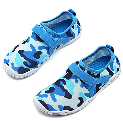 Cior Fantiny Jongens & Meisjes Waterschoenen Lichtgewicht Comfortzool Easy-walking Atletische Slip Op Aquasok (peuter / Klein Kind / Groot Kind) M.blue