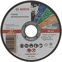 Bosch - 115*1, 0 mm Çoklu Malzemelerde Kullanım İçin Düz Kesme Diski (Taş)