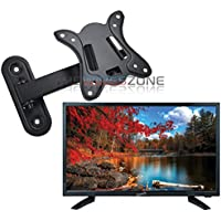 Supersonic SC-1911 19 LED Widescreen AC/DC 1080p HDTV Television + Wall Mount