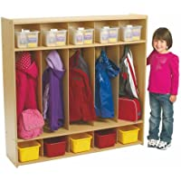 5-Section Preschool Locker