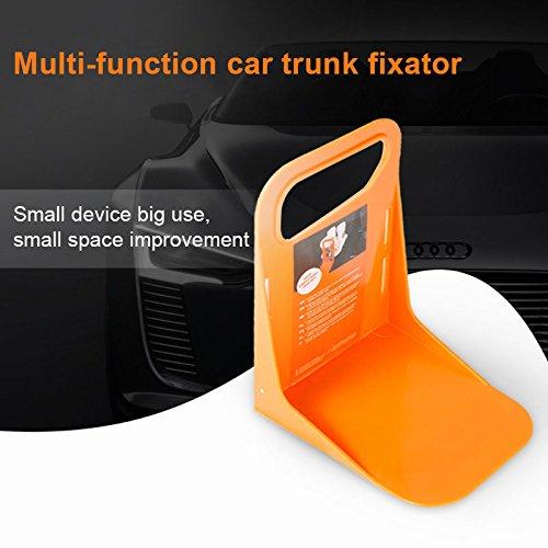 2 x Orange Car Tax Disc Holder Car Windscreen Parking Permit Holder