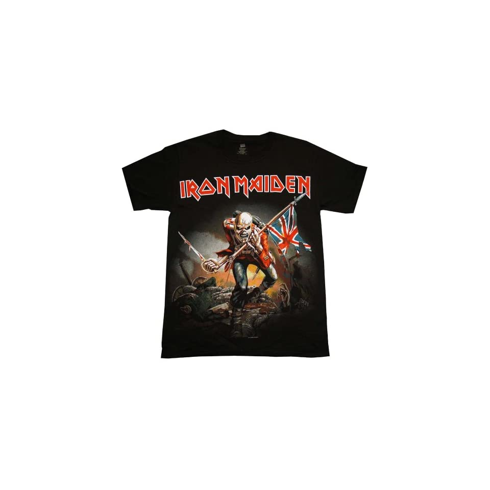 Iron Maiden The Trooper Album Cover Band T Shirt Tee Select Shirt Size Small