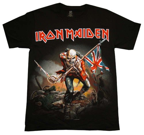Iron Maiden Trooper T-Shirt (Medium) ()