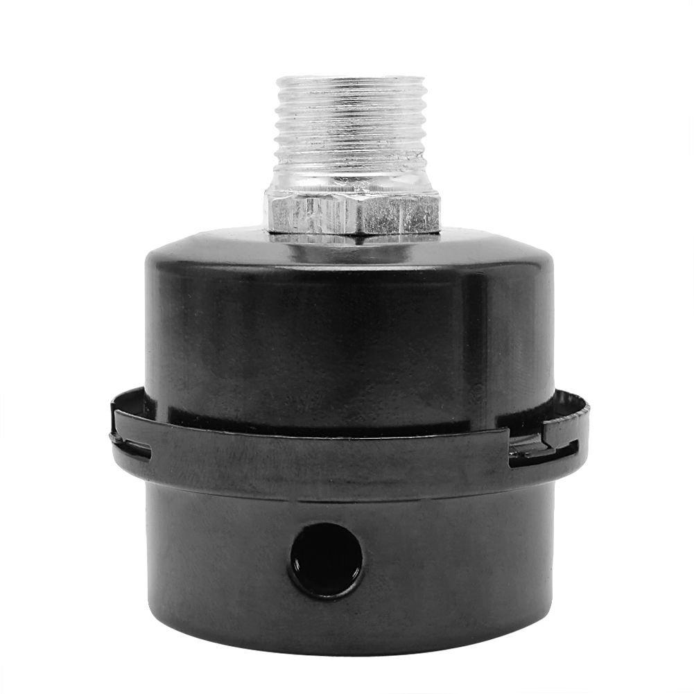 Cikuso Silenziatore Silenziatore Silenziatore Con Filtro Aria In Metallo Da 3/4 Pollici 20mm