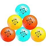 Longridge Atomic Hi-Vis Neon Golf Balls