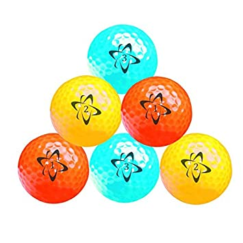 663f239bf Longridge Atomic Hi-Vis Neon Golf Balls  Amazon.co.uk  Sports   Outdoors