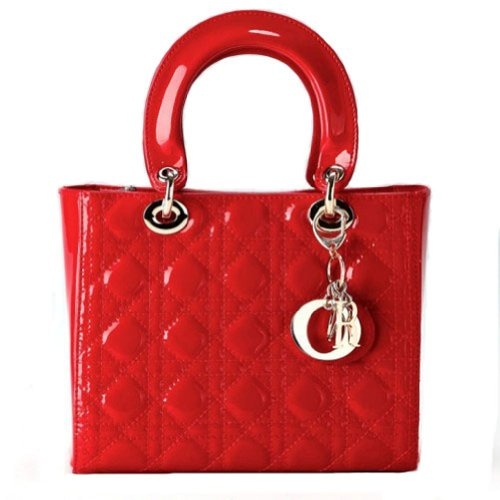 Fineplus® Women's Split Cow Leather Cannage Diamond Texture Lattice Lady Handbags Shoulderbags Buyb082