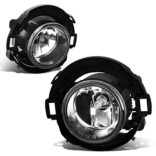Pair of Bumper Driving Fog Lights (Clear Lens) for Nissan Xterra/Frontier 05-18