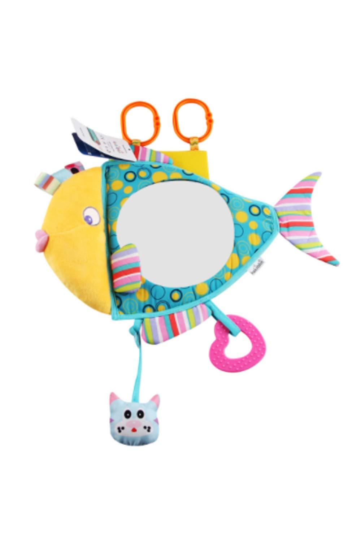 Smtd Mädchen Und Jungen Hochwertigem Clear Sight Spiegeloberfläche Babyspiegel Sicheres Autofahren Einfache Montage Tier Baby Autospiegel Baby