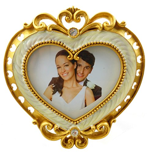 Heart Shape Picture Frame 4.5 in. x 4.5 ()