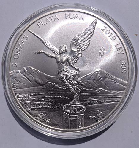2019 MX 5 oz Libertad Silver Brilliant Uncirculated