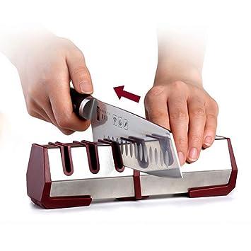 Afilador de cuchillos Premium - La mejor herramienta manual ...