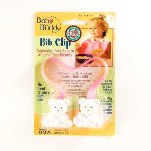 Bib Clip Pink Case Pack 18