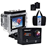 Best Action Cameras - Campark® 4K 30fps WiFi Ultra HD Waterproof Sports Review