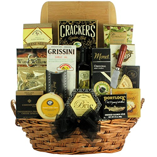 GreatArrivals Gift Baskets Grand Impressions: Cheese & Snack Gift Basket, 4 Pound by GreatArrivals Gift Baskets