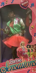 Barbie and The Sensations Belinda Doll AA w Green Jacket & More (1987 Mattel Hawthorne)