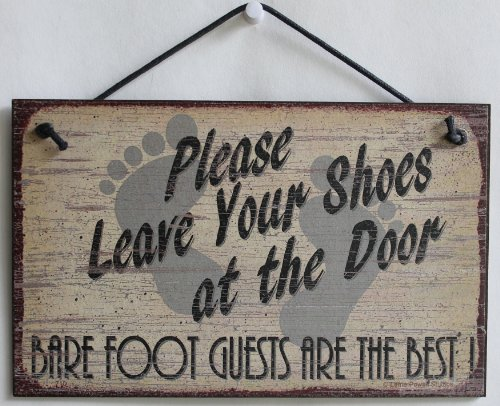 Signs are made of tempered hardboard and have a vintage faux finished background which creates the illusion of an aged vintage sign. It is well made and displays beautifully.