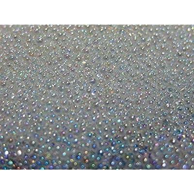 Kamas Tiny Nail Caviar 10g/jar 0.6-0.8mm Crystal Pixie Glass Caviar Beads AB Glitter Micro Beads Nail Rhinestones for Nails Design : Garden & Outdoor