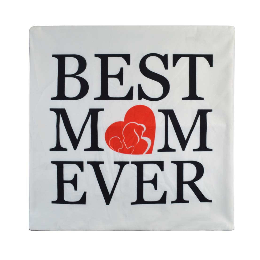Tongcloud Best Mom Ever Decorative Throw Pillow Covers Home Decor