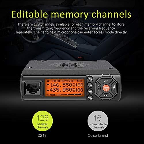 Amazon.com: Zastone Mini VHF Radio 25W UHF/VHF 136-174/400 ...