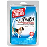 Simple Solution Washable Male Wrap, Medium, Teal