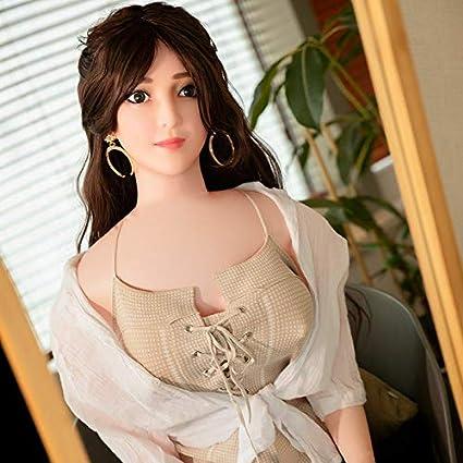 XUESHA Hinchable Mujer Muñeca Semisólida Inflable Adecuada para El ...