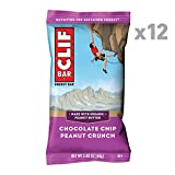 CLIF BAR - Energy Bar - Chocolate Chip Peanut Crunch - (2.4 Ounce Protein Bar,...