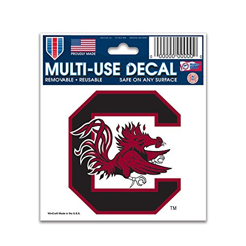 NCAA University of South Carolina Multi-Use Decal, 3