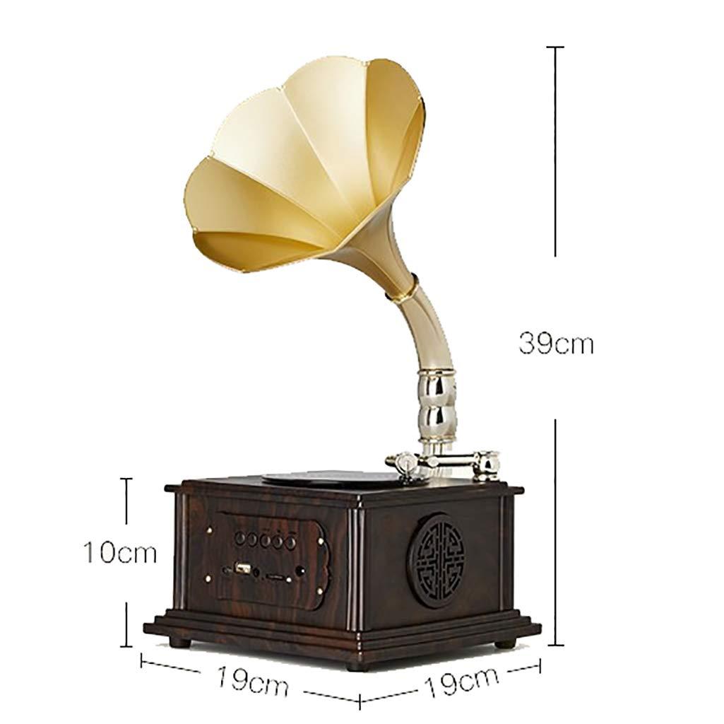 Tocadiscos Retro Living Room Gramófono Bluetooth Reproducción de ...