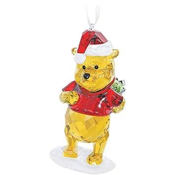 Amazon.com: Swarovski Winnie The Pooh Christmas Ornament: Home ...