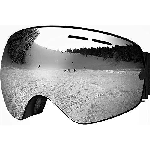 HONGDAK Ski Goggles Snowboard Snowmobile Men Women Anti Fog Polarized OTG Over Glasses Snow Sports Sunglass Snowboarding Jet Skiing Youth Kids