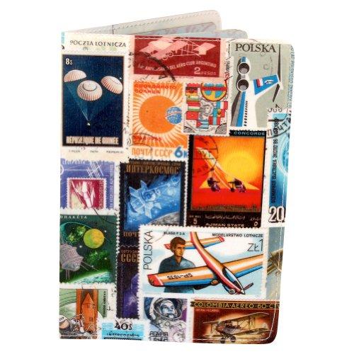 Flying Stamps Travel Passport Holder