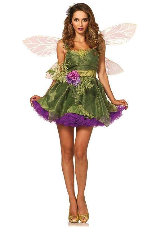Karneval Klamotten Waldfee Kostum Damen Luxus Fee N Kostum Sexy Mit