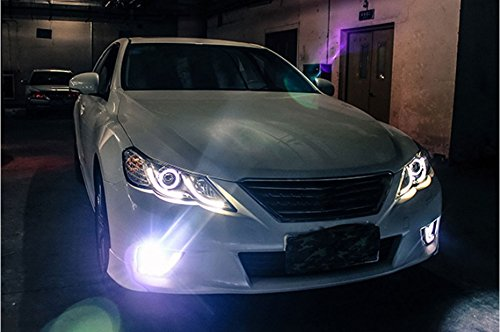 GOWE Car Styling for Toyota Reiz led headlights 2010-2013 new Mark X LED Head Lamp signal drl H7 hid Bi-Xenon Lens low beam Color Temperature:4300K Wattage:35W 1