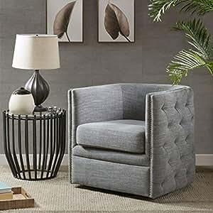 Amazon Com Madison Park Mp103 0242 Capstone Swivel Chair