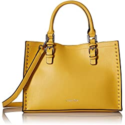 Calvin Klein Unlined Novelty Casual Tote, Yellow